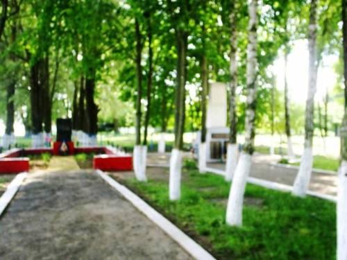 2 из 4-х захоронений в посёлке Тростенчик...